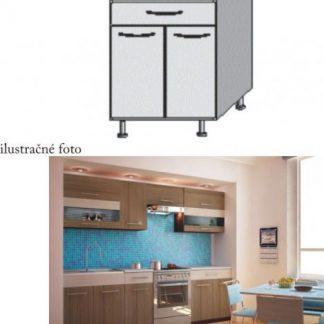 Tempo Kondela Kuchyňská skříňka JURA NEW I D- S1 + kupón KONDELA10 na okamžitou slevu 3% (kupón uplatníte v košíku)