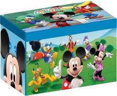 Forclaire Dětská látková truhla Mickey