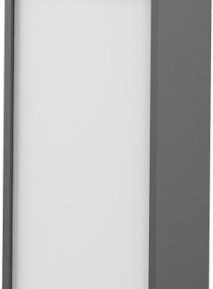 Tempo Kondela Skříň Rioma TYP 10 - grafit / bílá + kupón KONDELA10 na okamžitou slevu 3% (kupón uplatníte v košíku)