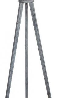 Tempo Kondela Stojací lampa JADE Typ 10 - šedá + kupón KONDELA10 na okamžitou slevu 3% (kupón uplatníte v košíku)