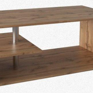 Tempo Kondela Konferenční stolek DORISA - dub wotan + kupón KONDELA10 na okamžitou slevu 3% (kupón uplatníte v košíku)