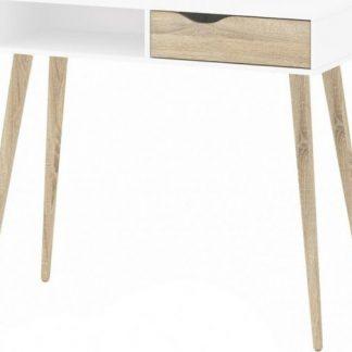 Falco Toaletní stolek Retro 388 - bílá/dub