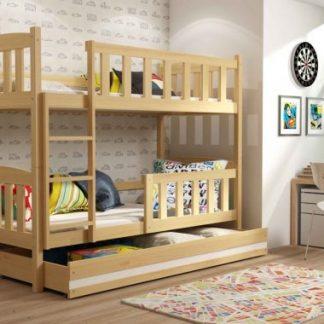 Falco Patrová postel Kuba borovice