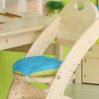 Domestav Sedák na dětskou židli Klára 1 růžovo-fialový