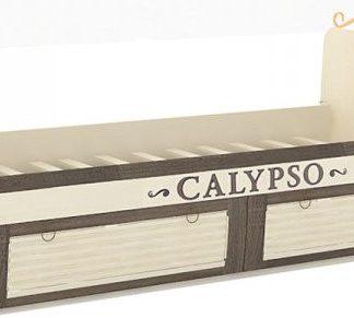 Lubidom Dětská postel Calypso x190 cm - štichlak/sonoma H tmavá