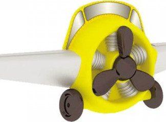 Lubidom Letecká vrtule Aviator - bílý