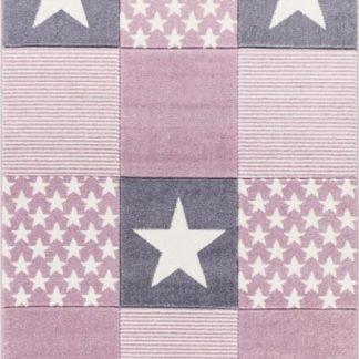Forclaire Dětský koberc STARWALK růžový 160x230 cm