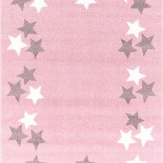 Forclaire Dětský koberec BORDERSTAR růžovošedý 160x230 cm