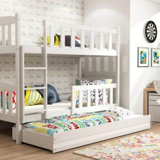 Falco Patrová postel s přistýlkou Kuba bílá