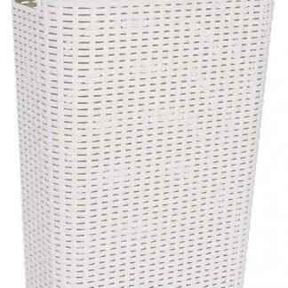 Curver Koš na prádlo STYLE RATTAN 40L - krémový
