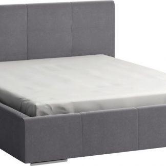 Casarredo Čalouněná postel MEDIOLAN  šedá