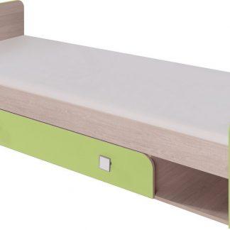 Casarredo DUO D9 postel  cm santana/zelená