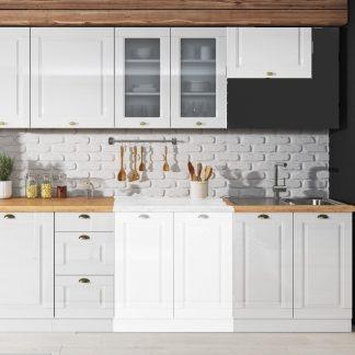 Casarredo Kuchyně ATTILA  bílá lesk