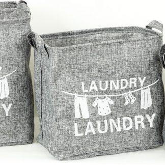 Autronic Koš na prádlo plátěný