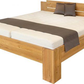 Ahorn Dvoulůžková postel Grado - dub divoký 160x200