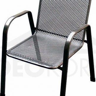 Deokork Kovová židle (křeslo) Sága nízká