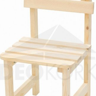 Deokork Masivní dřevěné zahradní křeslo z borovice dřevo 22 mm