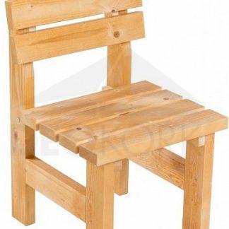 Deokork Masivní dřevěné zahradní křeslo TEA 01 o síle 38 mm
