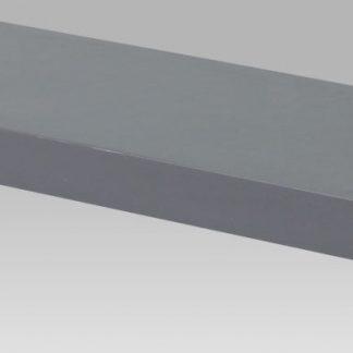Autronic Nástěnná polička 60 cm P-001 GREY šedá