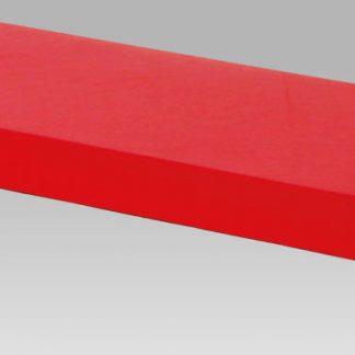 Autronic Nástěnná polička 60 cm P-001 RED - červená