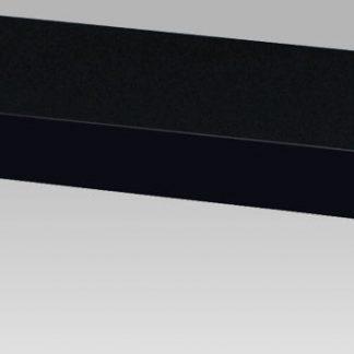 Autronic Nástěnná polička 80cm P-005 BK - černá