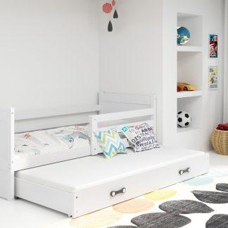 Falco Dětská postel Riky II 90x200 - bílá