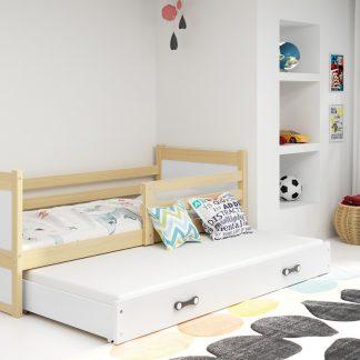 Falco Dětská postel Riky II 90x200 - borovice/bílá