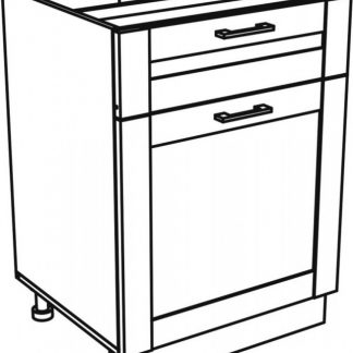 Falco Kuchyňská skříňka Kingston 16/DS1 dub wotan